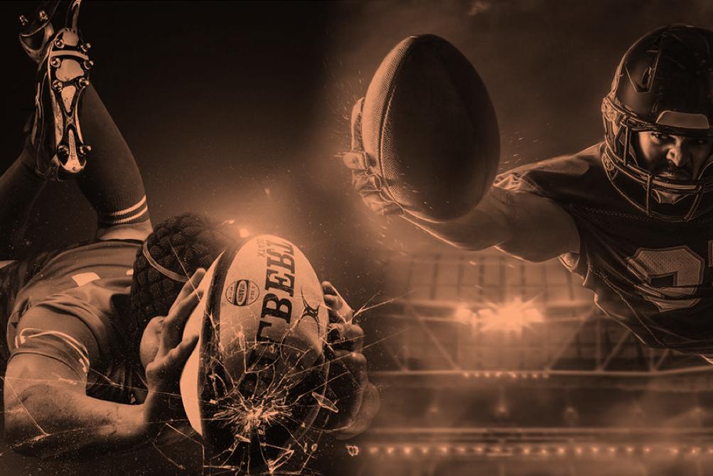 Rugby VS Football Americano  chi è il più duro  - Vincenzo Guarrella - Vincenzo  Guarrella aea079587417
