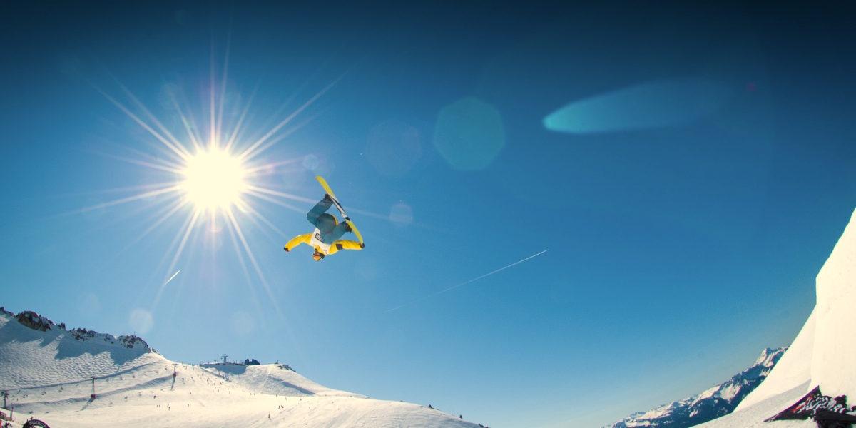 montagna infortunio snowboard